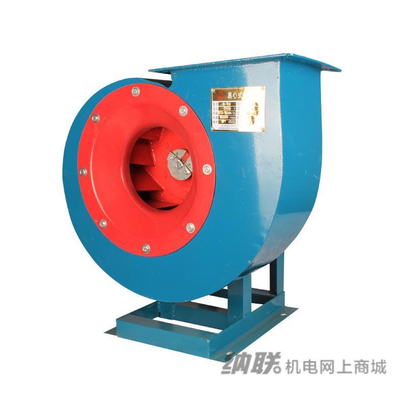 纳联机电 4-72型离心风机-4C/3KW(无电机,脚架)