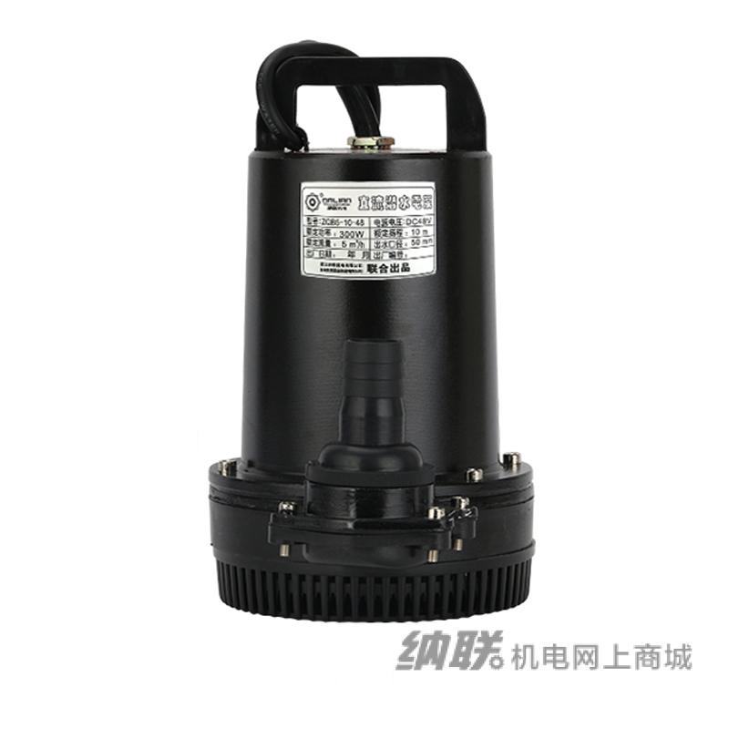 纳联机电 直流潜水泵-ZQB-48/300W(黑色电泳机筒)
