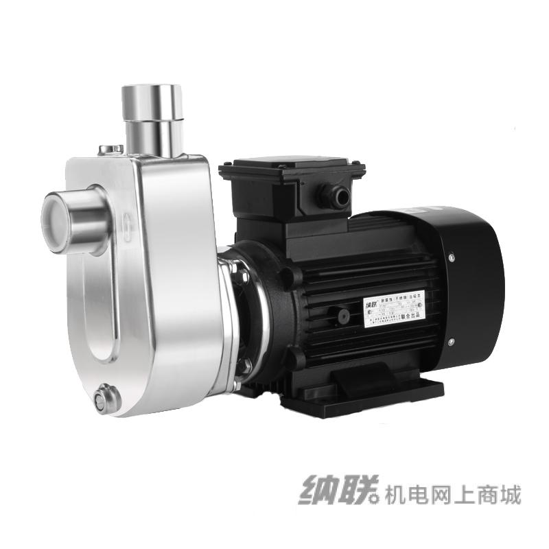 纳联机电 不锈钢耐腐蚀泵-WBZF25*25-8S-0.25kw 单