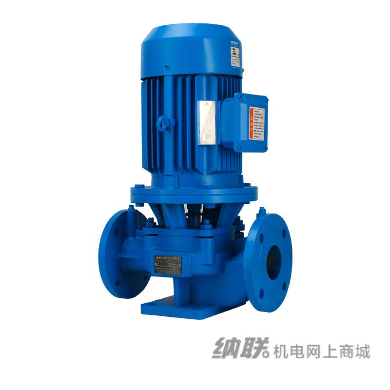 纳联机电 管道泵-IRG80-160-7.5三相