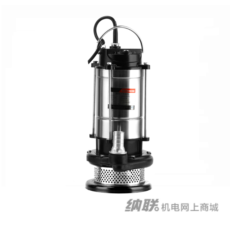 纳联机电 潜水泵-100QDX55-10-1.5单铜(半不锈钢)