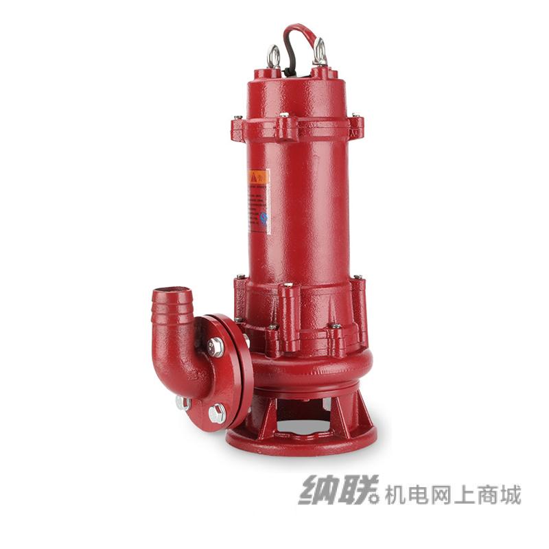 纳联机电 台湾款带刀切碎切割排污泵-80GNWQ40-10-2.2