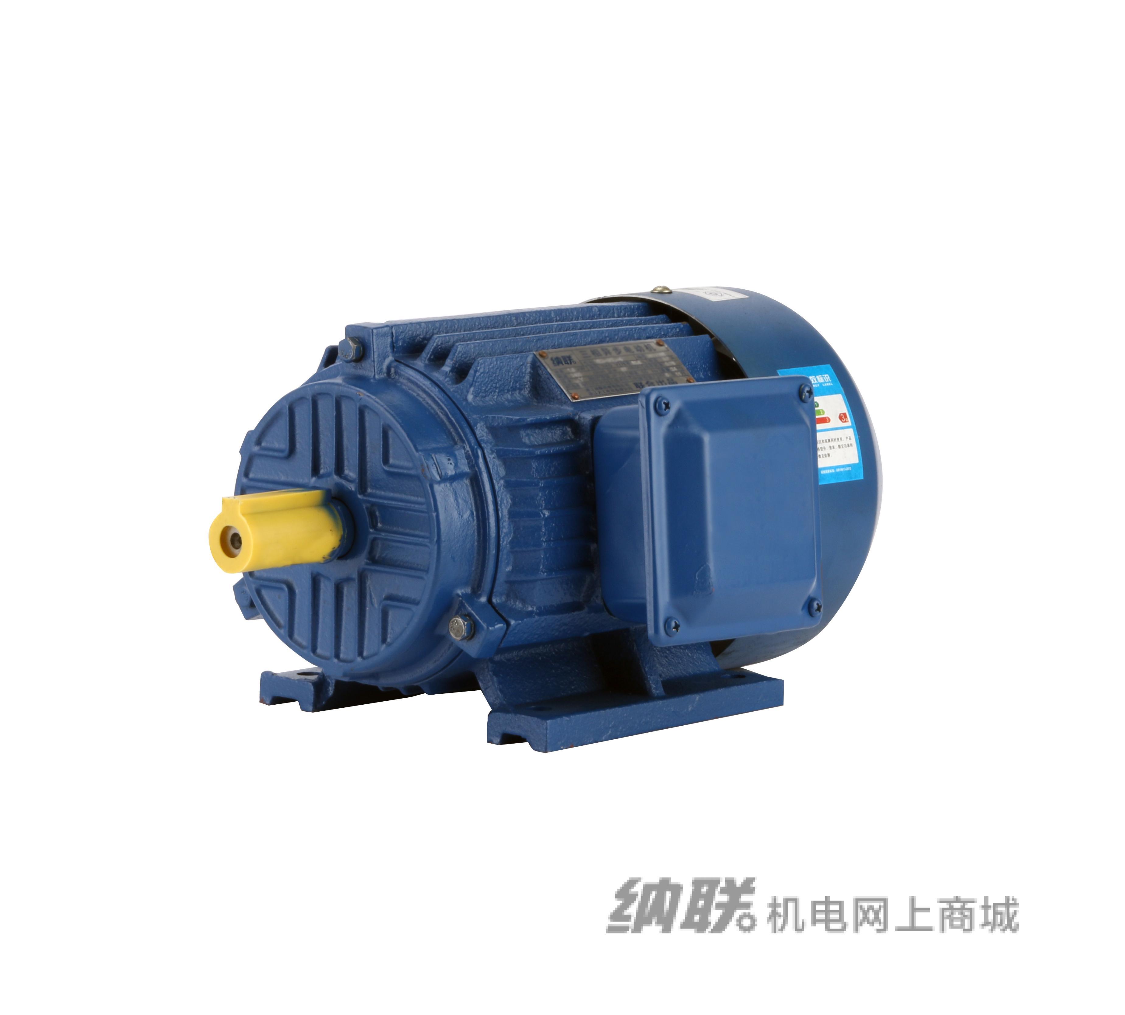 纳联机电 YE2系列电机-YE2-132M1-6/4kw反装