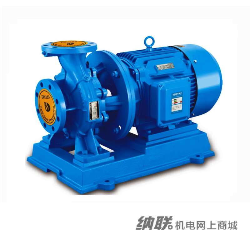 纳联机电 管道泵-ISW80-125A-4