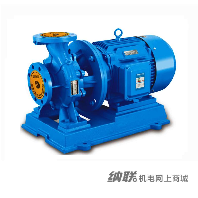 纳联机电 管道泵-ISW80-125-5.5三相