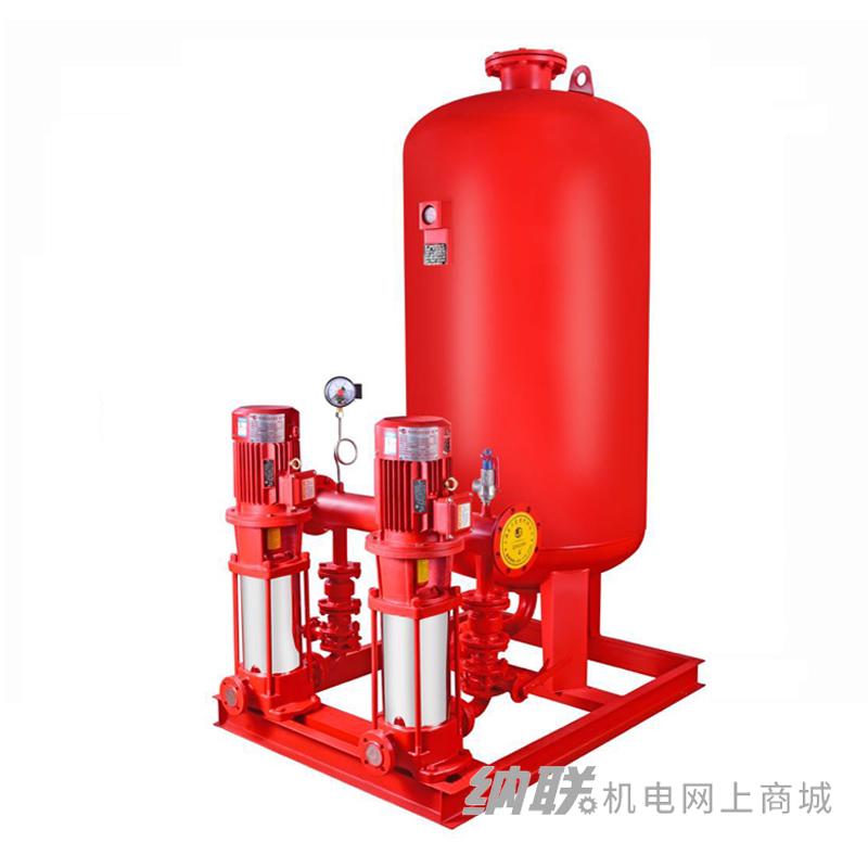 纳联机电 消防设备-XBD5.0/1W-GDL(消防栓增压泵2台,1.5直启柜一控二1个,800*0.6气压罐1台,管路机组1台)