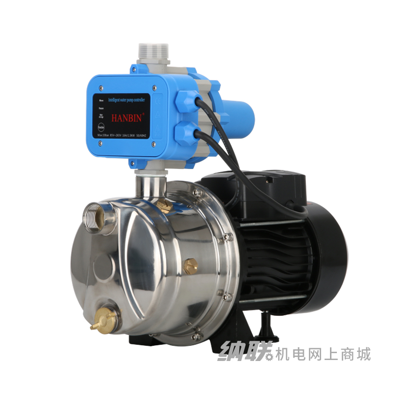 纳联机电 不锈钢自吸喷射泵JET-1.8-32-0.37S自动款