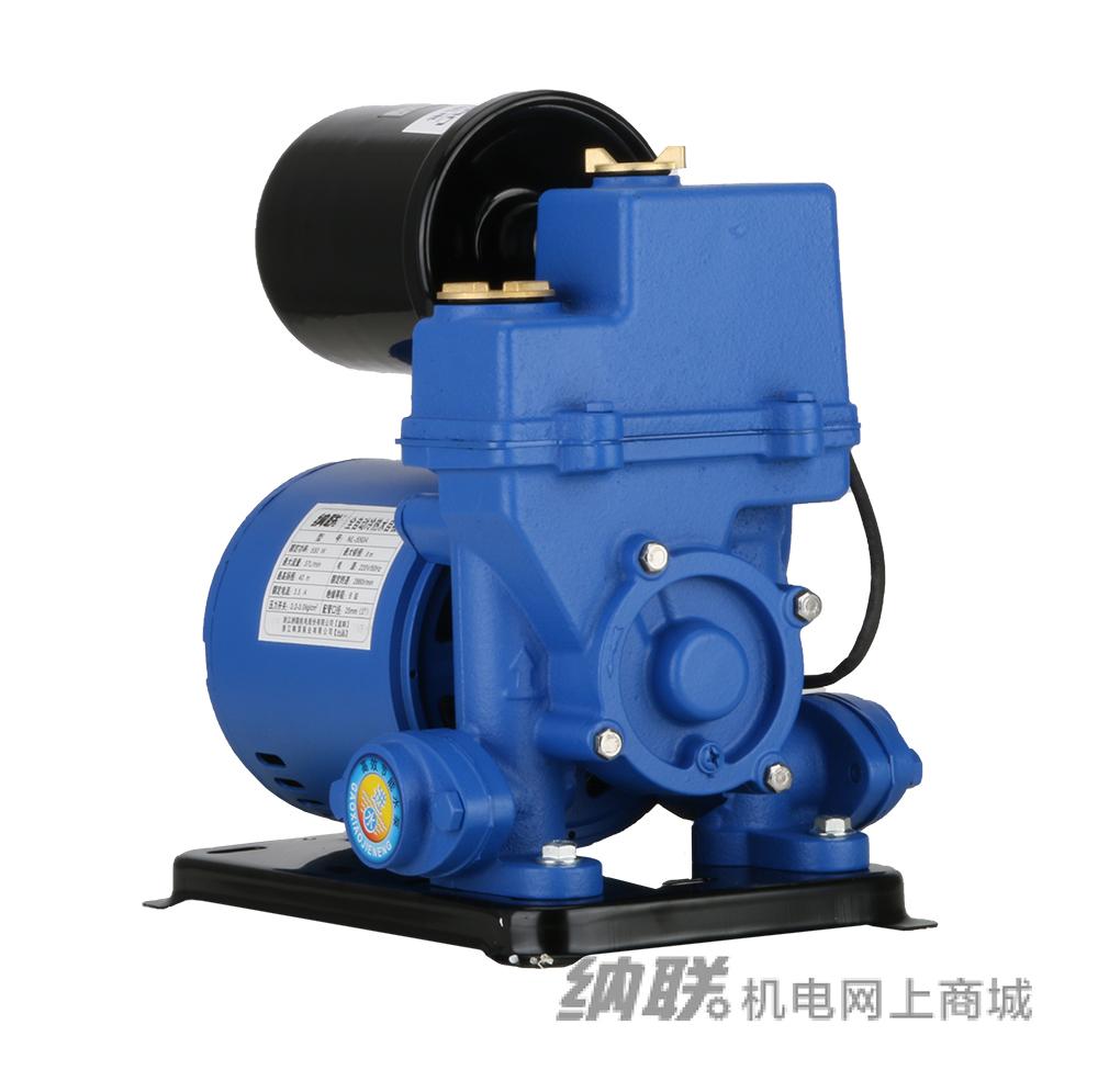 纳联机电 全自动冷热水自吸泵-NL-370A(精包装)新