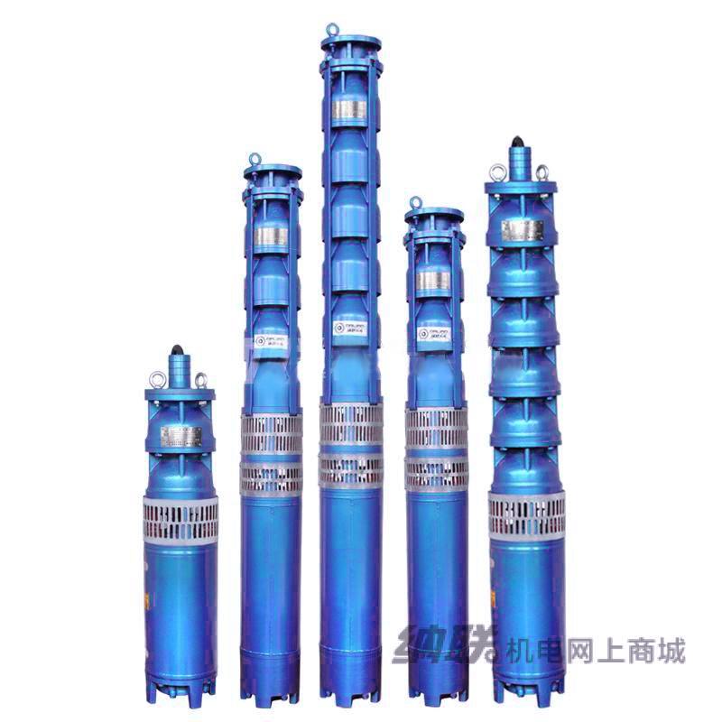 纳联机电 充水式深井泵-150QJ63-12/2-4