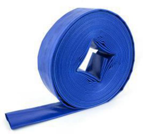 纳联机电 水带-01型透明蓝色3寸(50米/卷)