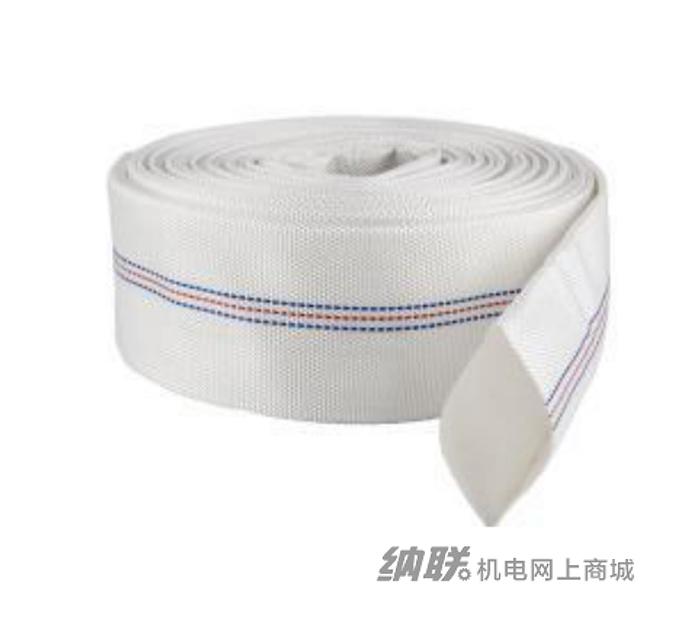 纳联机电 水带-PU白色消防带2.5寸(50米/卷)