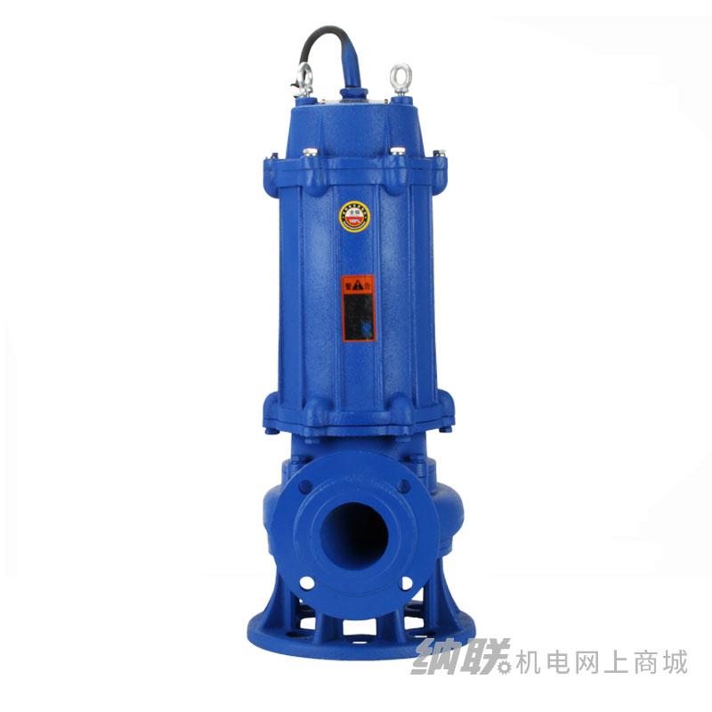 纳联机电 搅匀式污水泵-65JYWQ25-15-2.2