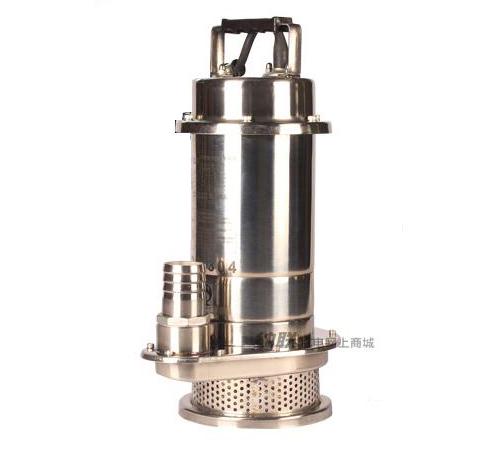 纳联机电 潜水泵-QDX10-15-0.75S不锈钢(15米线)