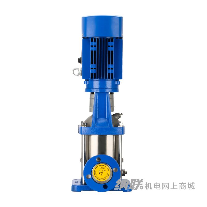 纳联机电 立式不锈钢多级离心泵-CDLF12-7/5.5