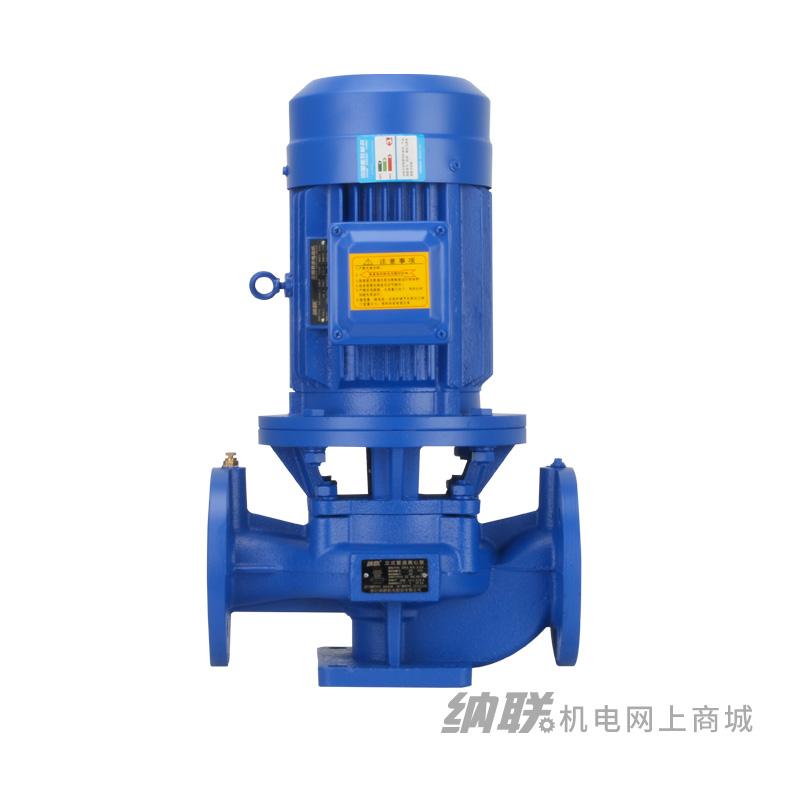 纳联机电 管道泵-IRG65-100A-1.1三相