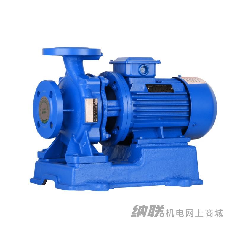 纳联机电 管道泵-ISW25-125-0.75三相