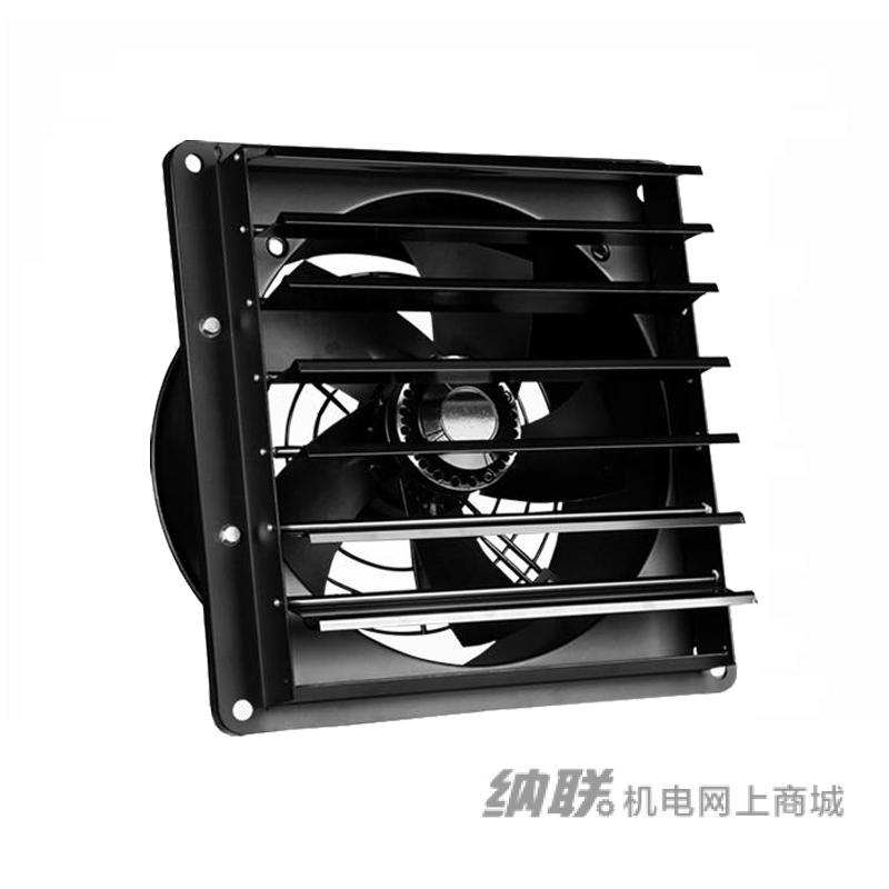 纳联机电 外转子轴流风机-YWF4E-350方形百叶 单