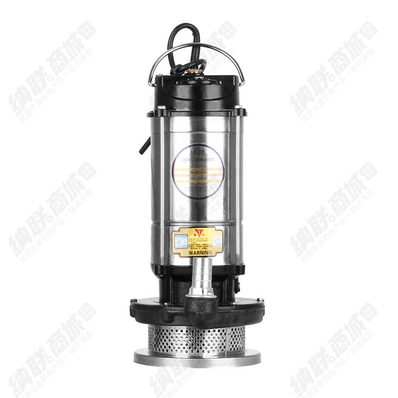 纳联机电 潜水泵-25QDX1.5-22-0.75单铜(半不锈钢)