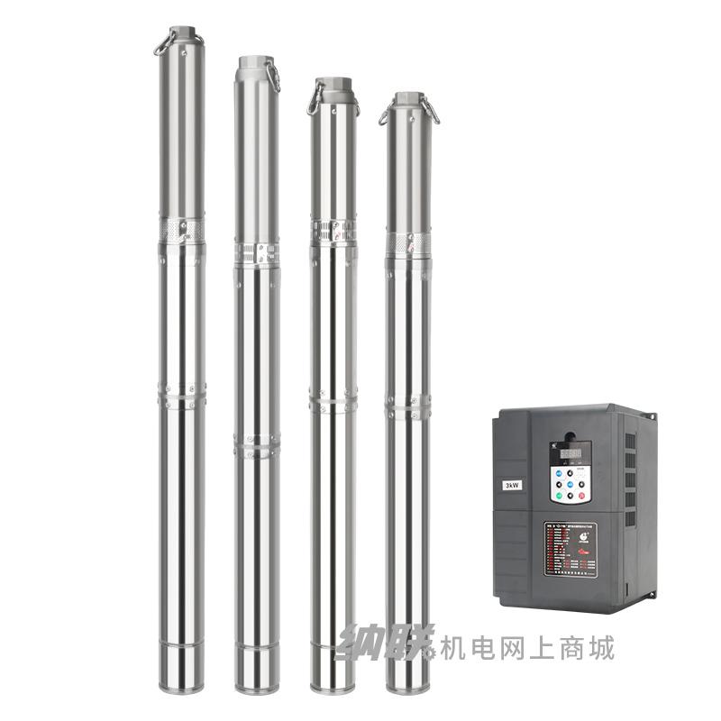 纳联机电 高速高效深井泵-G100QJD20-40/4-3