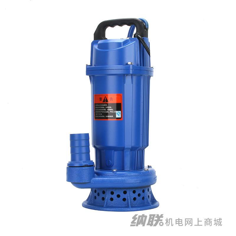纳联机电 潜水泵-50QDX10-16-0.75(新版)