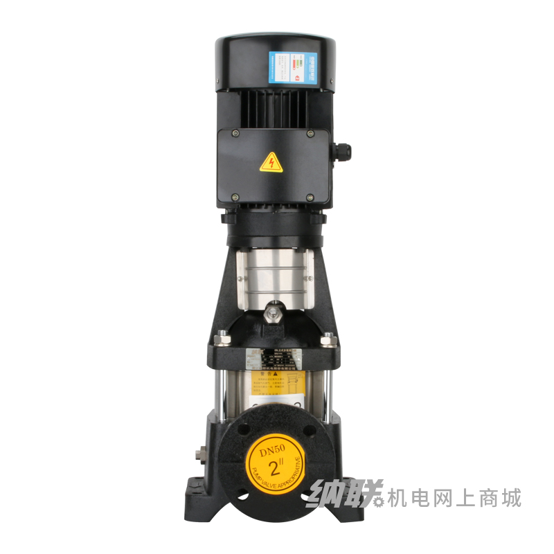 纳联机电 立式不锈钢多级离心泵-CDLF4-19/4