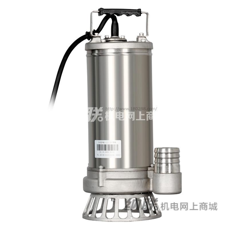 纳联机电 污水泵-WQD10-9-0.75S不锈钢