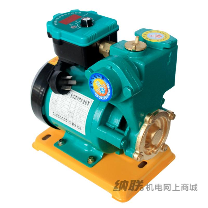 纳联机电 全自动冷热水自吸泵-NL-250A数码版(精包装)