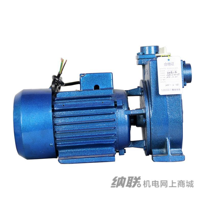 纳联机电 离心自吸泵-25ZBD-8-22-0.75 单