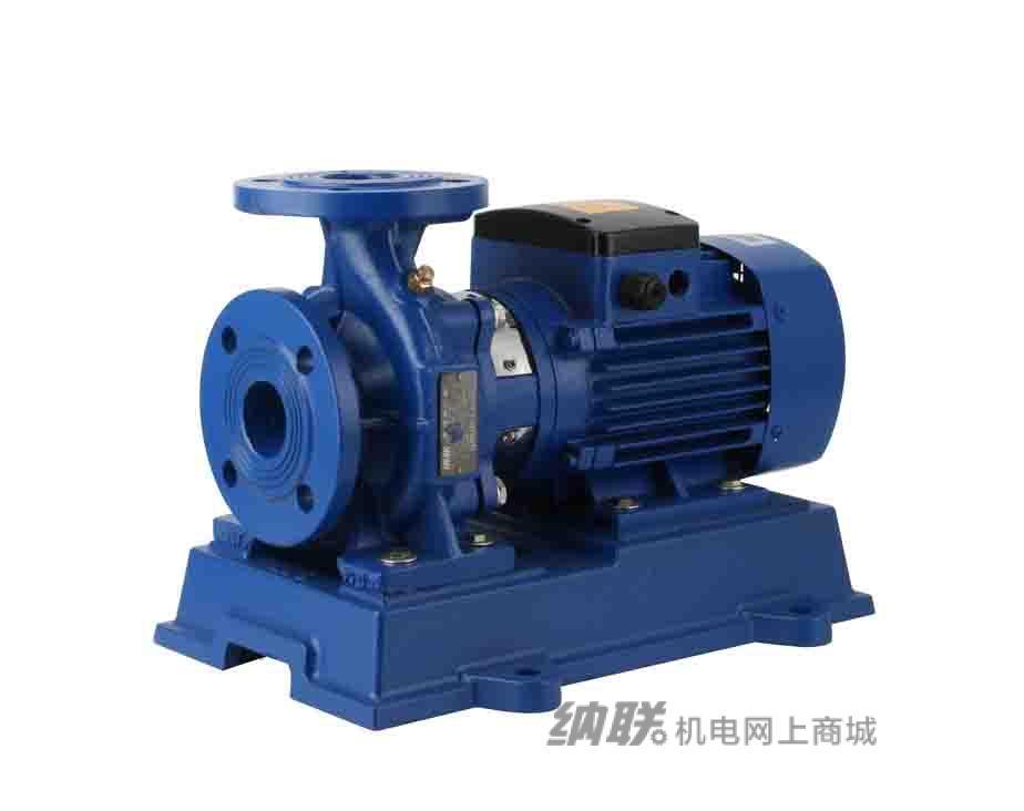 纳联机电 管道泵-ISW50-160-3三相(新款)