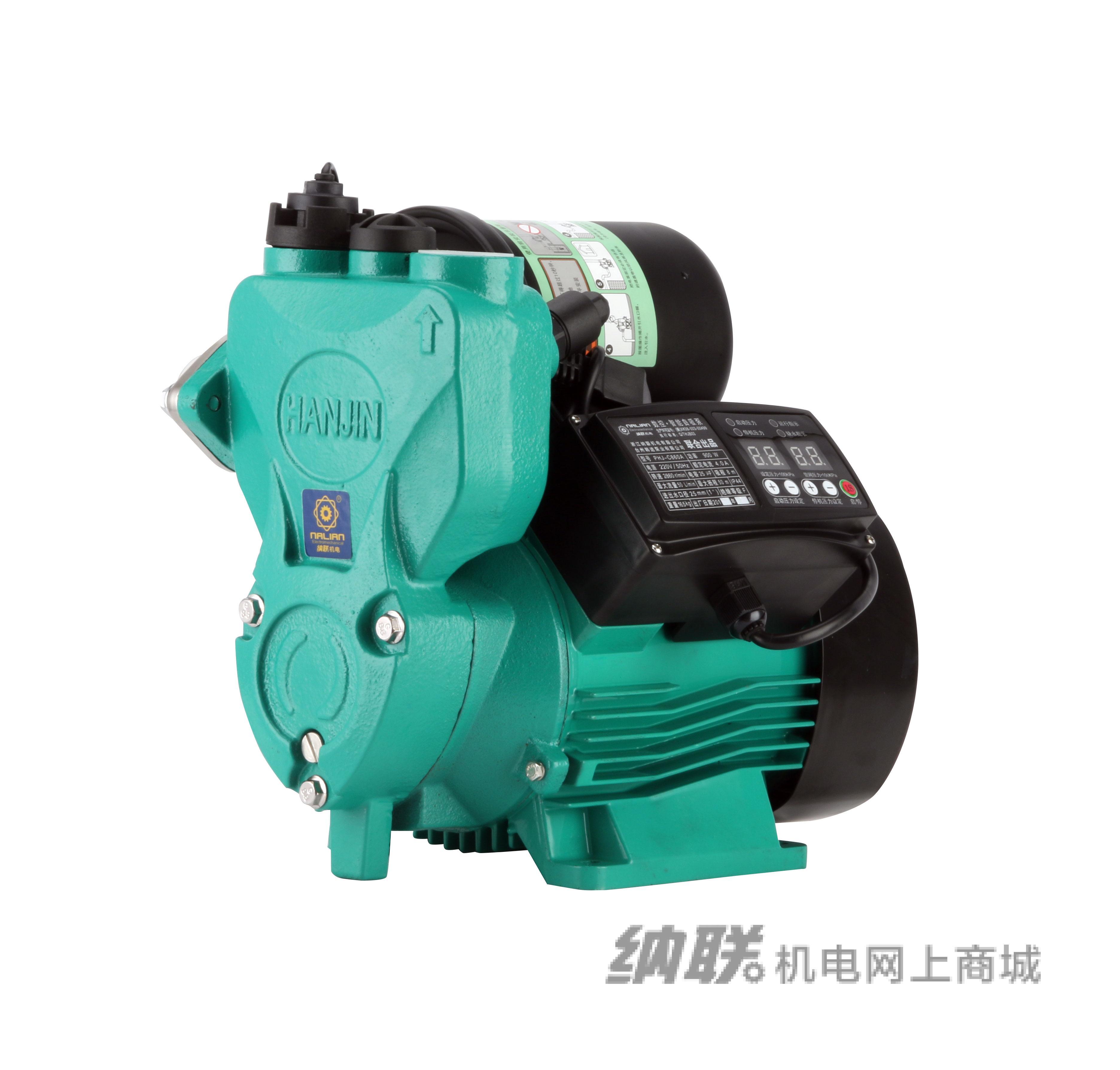 纳联机电 数码智能全自动自吸泵-PHJC-860A